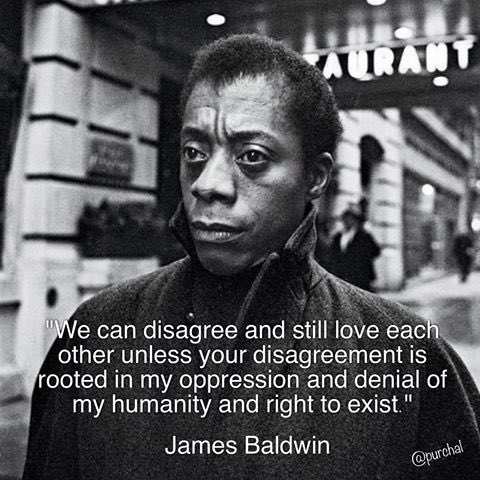 Image result for james baldwin denial of existence