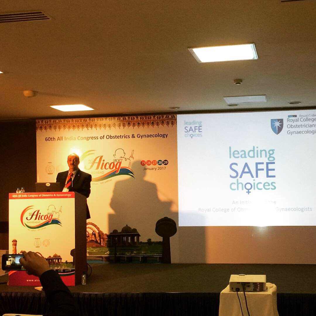 @RCObsGyn Vice President Hani Fawzi talks Leading Safe Choices, #familyplanning & #safeabortion at AICOG 2017 https://t.co/mOWpC0b0fr