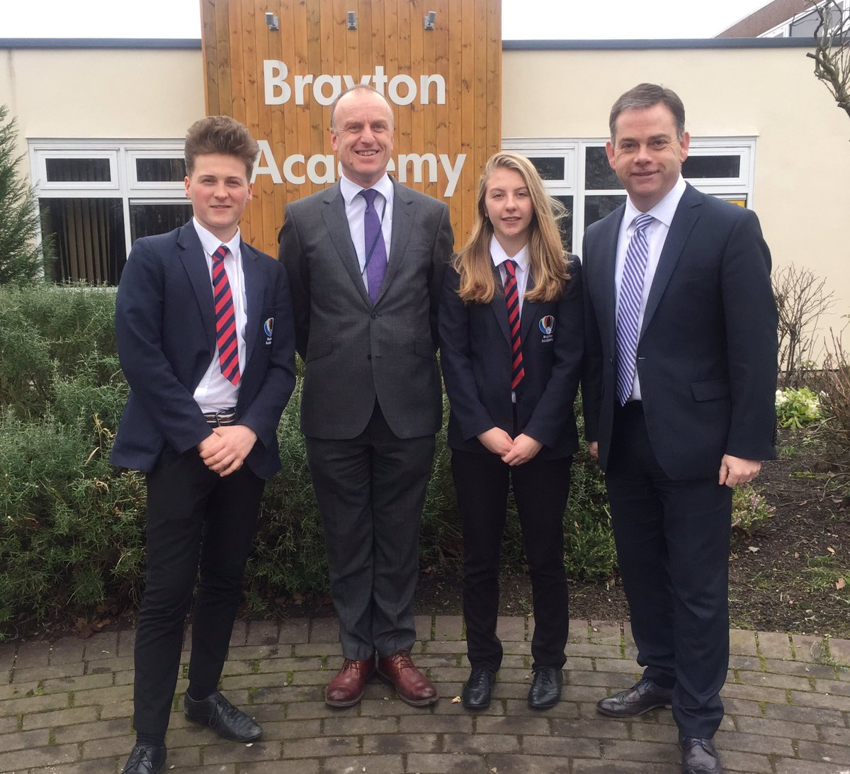 Enjoyed my visit to @braytonacademy1 to see the progress being made by the school. Very impressed with what I saw #Brayton #selby