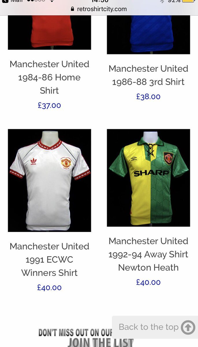 6050a8746 Retro Manchester United Shirts For Sale – EDGE Engineering and ...