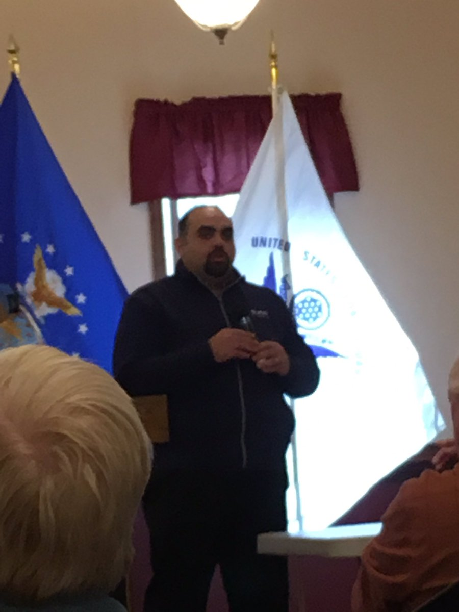 .@GIGoFund @JackFanous shares helpful tips at MyVA Forum American Legion Post 129 Toms River