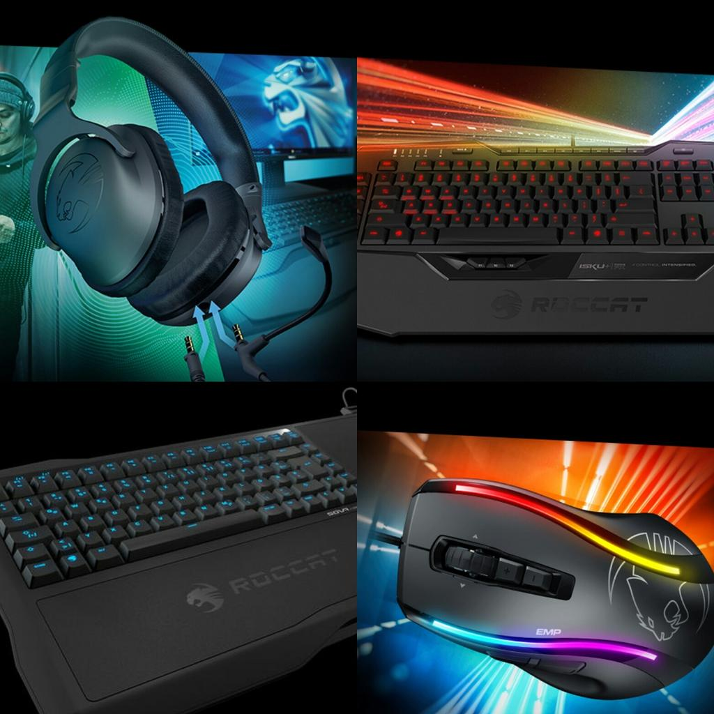In honor of our friends who can't attend #PAXsouth2017, we're giving away a Roccat bundle! Follow us & RT to enter! https://t.co/YMvavzSG0t