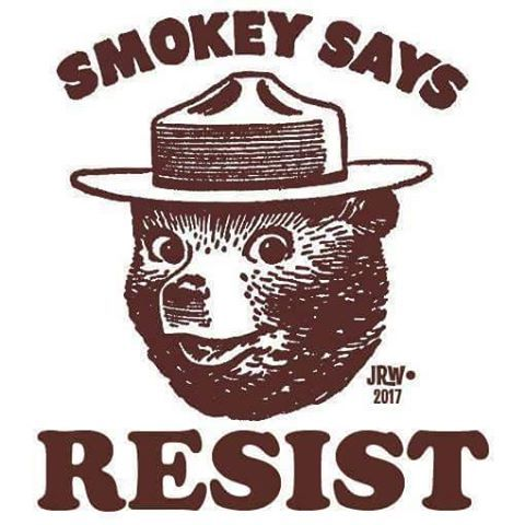 And remember kids, only YOU can prevent FASCISM. #whyimarch https://t.co/7TgbzzB54H https://t.co/ToYXujce63