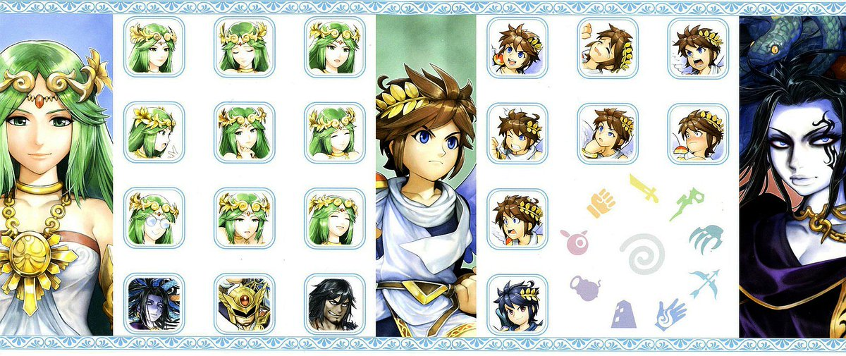 Cool Box Art On Twitter Kid Icarus Uprising Reverse Cover 3DS