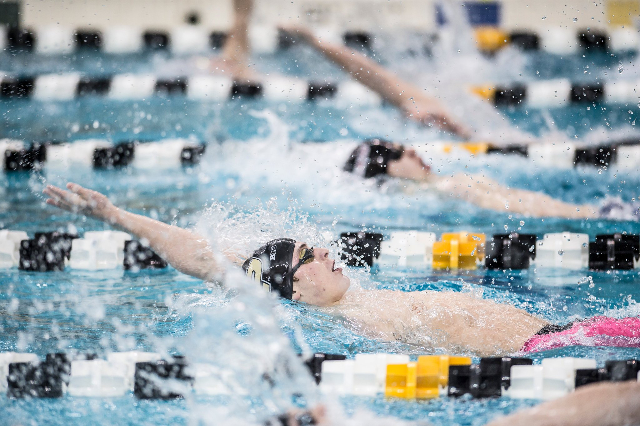 Purdue Swim Dive On Twitter Tim Swimmybarth Wins Heat 1 Of The 200 Back With Time Of 1