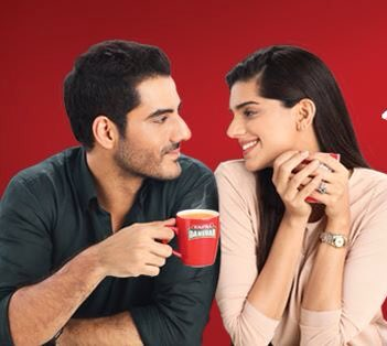 Sanam Saeed - Adeel Hussain's New Tapal Ad Pics & Video