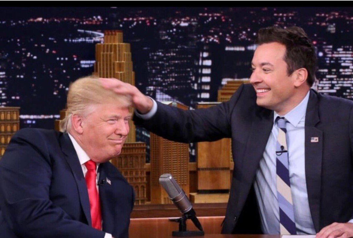 Thought I post this picture, to remind everyone what the run up to the 2016 election was like: @jimmyfallon https://t.co/2iTWLOuqWr