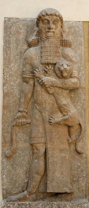 Relieve de Gilgamesh #arte https://t.co/gvN9igMupp