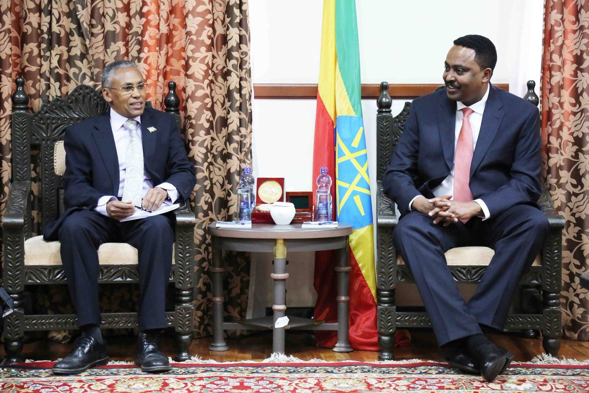 Dr. Gebeyahu of Ethiopia and Dr. Saad of Somaliland