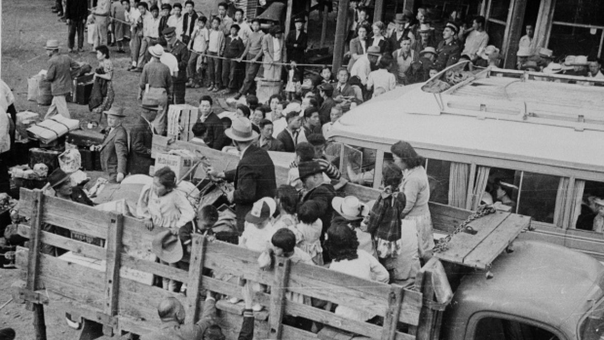 24. During WWII, Canada created our own refugees: Japanese-Canadians driven out of BC — many of them coming to Toronto. https://t.co/5BOagsD0wo