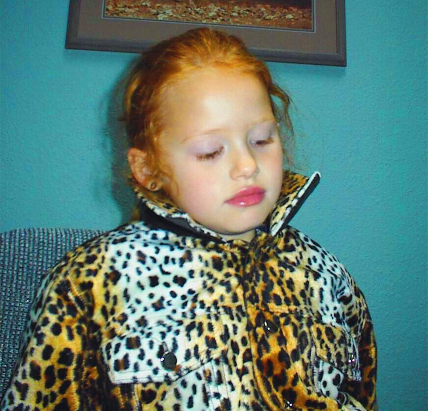 Madelaine Petsch childhood photo