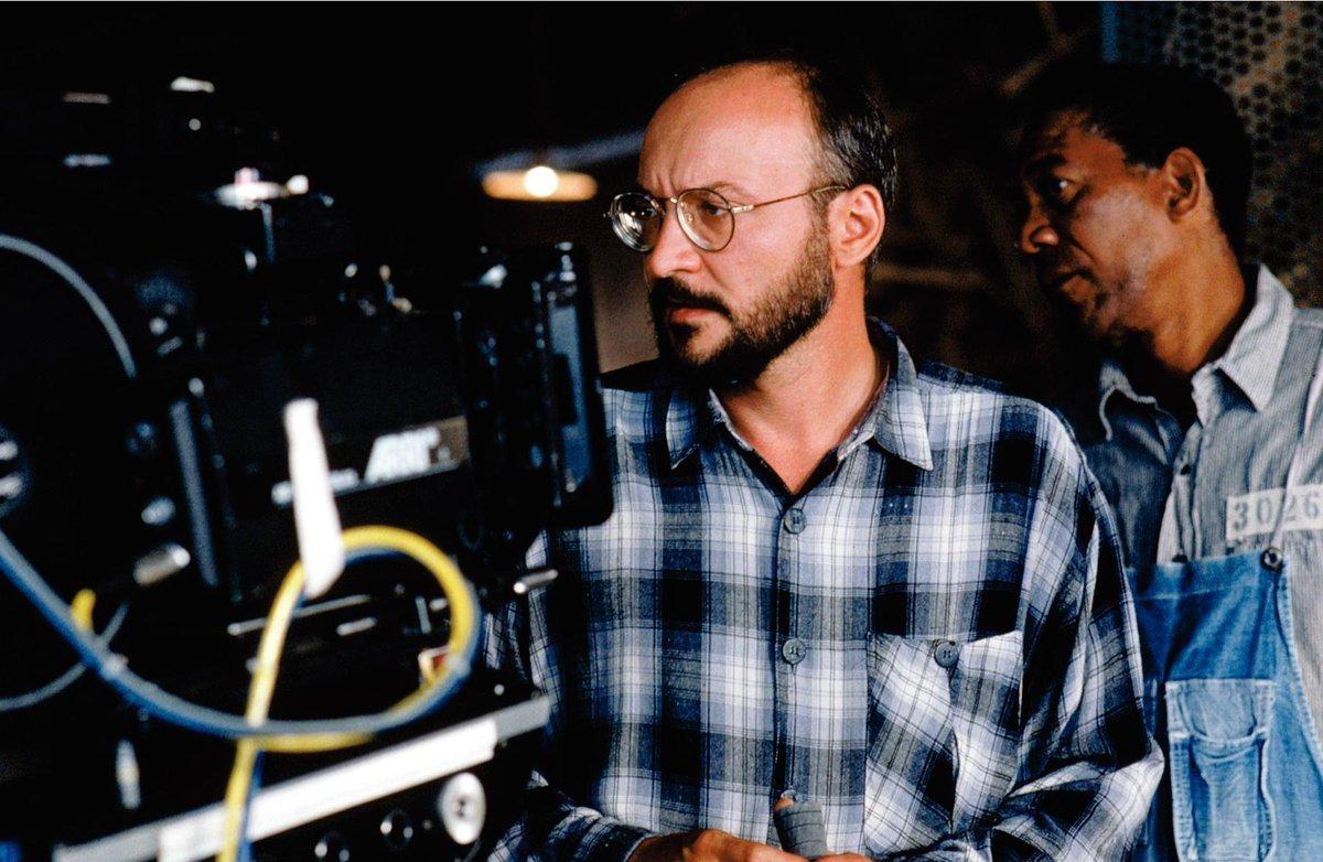 "Happy Birthday to director #FrankDarabont, with Morgan Freeman on the set of ""The Shawshank Redemption"" (1994). #botd @tcm @colebraxpic.twitter.com/NIVEY7l4hz"