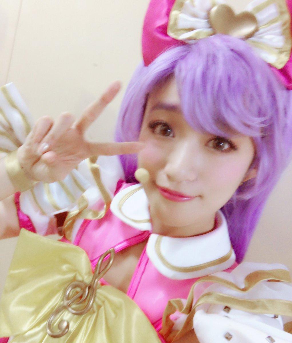 かしこまっ!千秋楽もみんなで楽しもうね💕あたしのサイリウムは、ピンクだよ〜!  #プリミュ