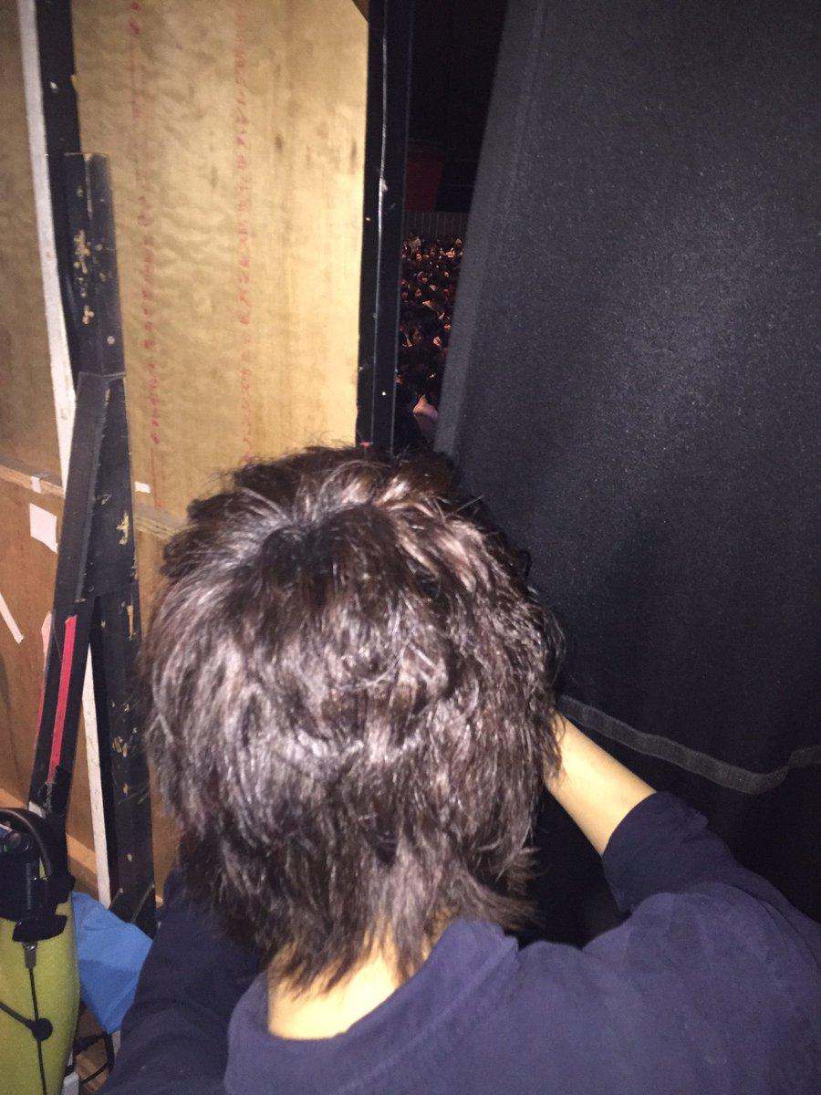 客席を撮るはじめさんの背中が可愛い(*^^*)  #ufes