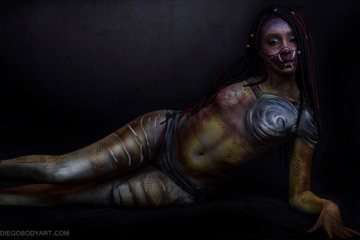 Speaking, would sexy nude cosplay body paint