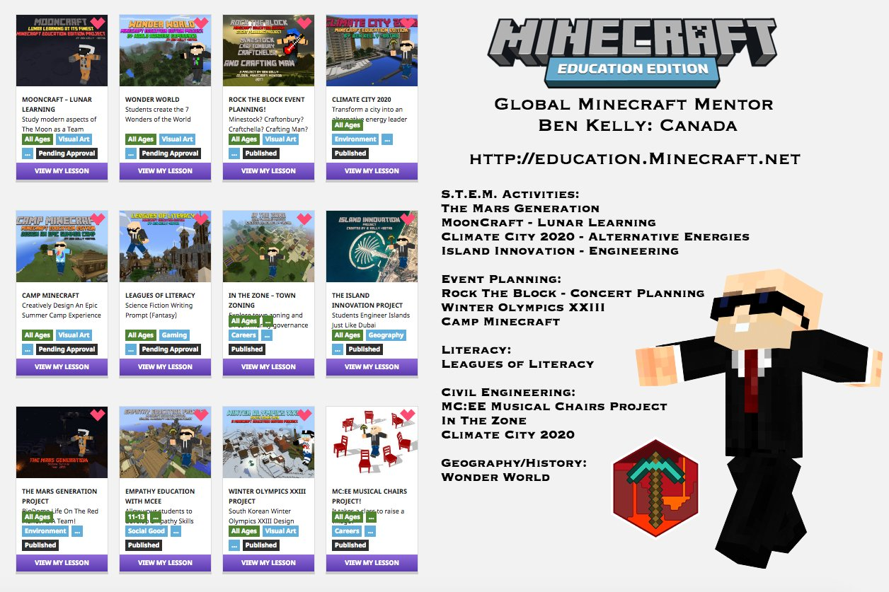 Busy Teachers! #MinecraftEDU Projects are waiting for you at https://t.co/ROo7SKAfXI with more added weekly! #EdTech #BETT2017 #FETC17 https://t.co/QPaPNNRUJN