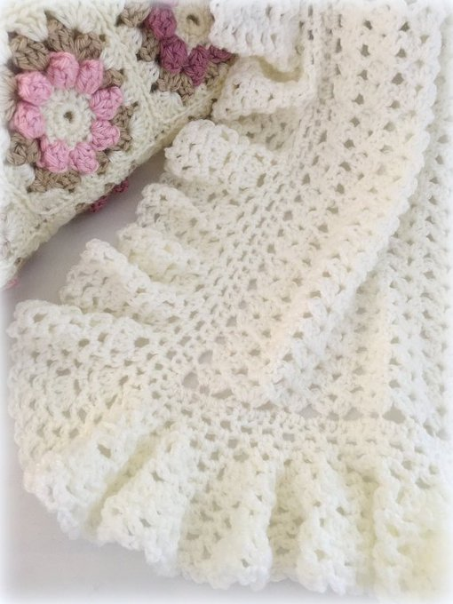 Crochet Pattern, Crochet Baby Blanket Pattern, Baby Blanket Pattern, Crochet Baby Blanket, Heirloom Lace, Patterns by Deborah O'Leary