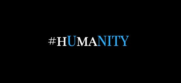 My new banner ... feel free to share and use ... can't spell humanity without unity