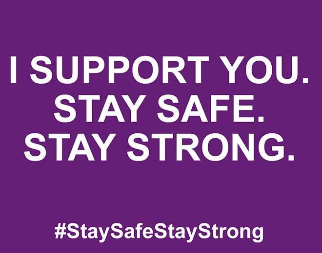 #StaySafeStayStrong https://t.co/nEoWrTrhBm