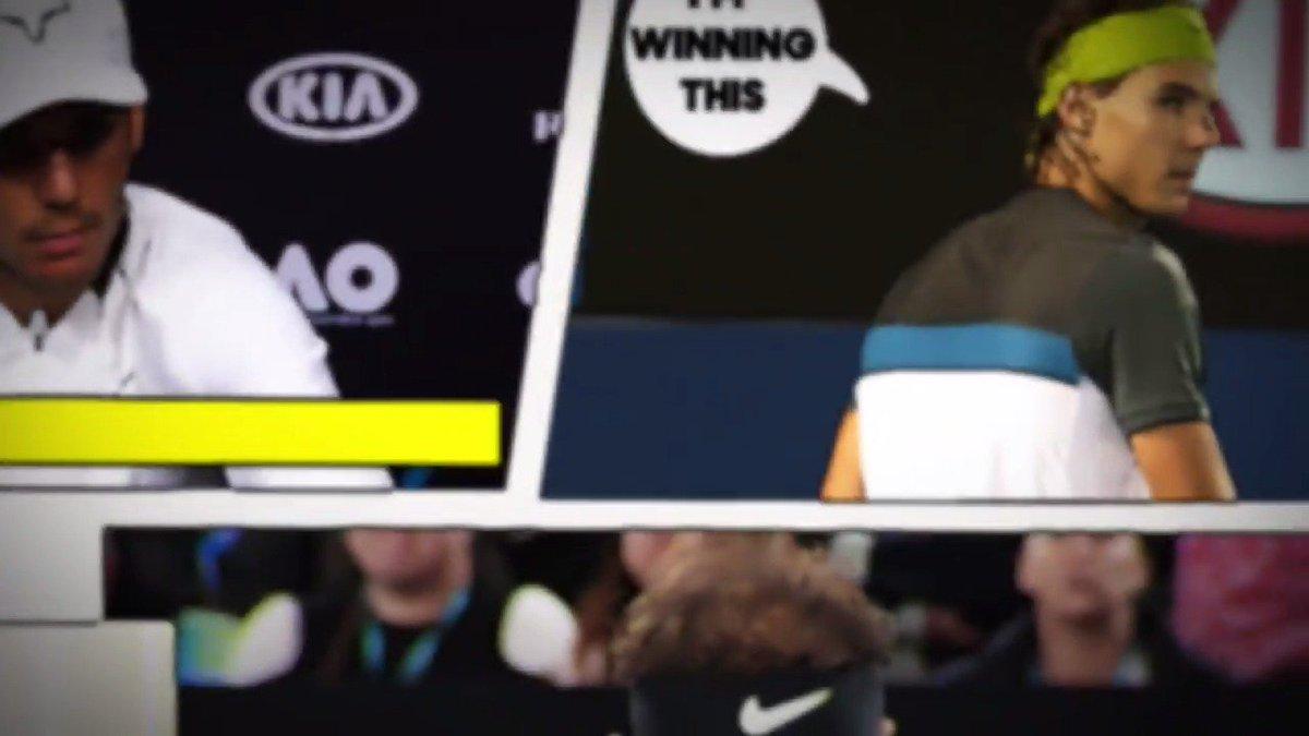 RT @AustralianOpen: The Australian Open 2017 presents...  The story of #Fedal.  #ausopen https://t.co/UOfB3GF4AH