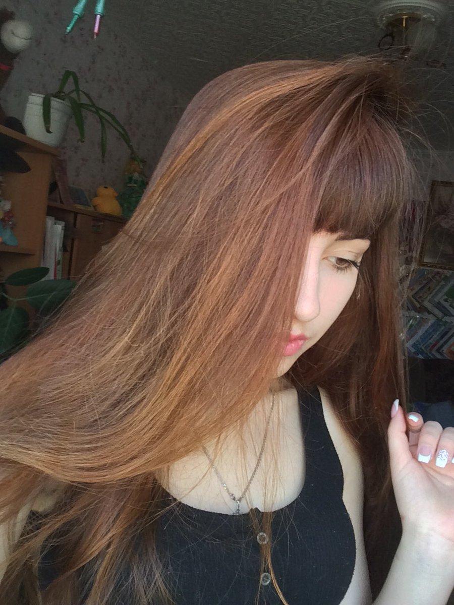 золотая рыбка, окраска волос луковой шелухой фото две