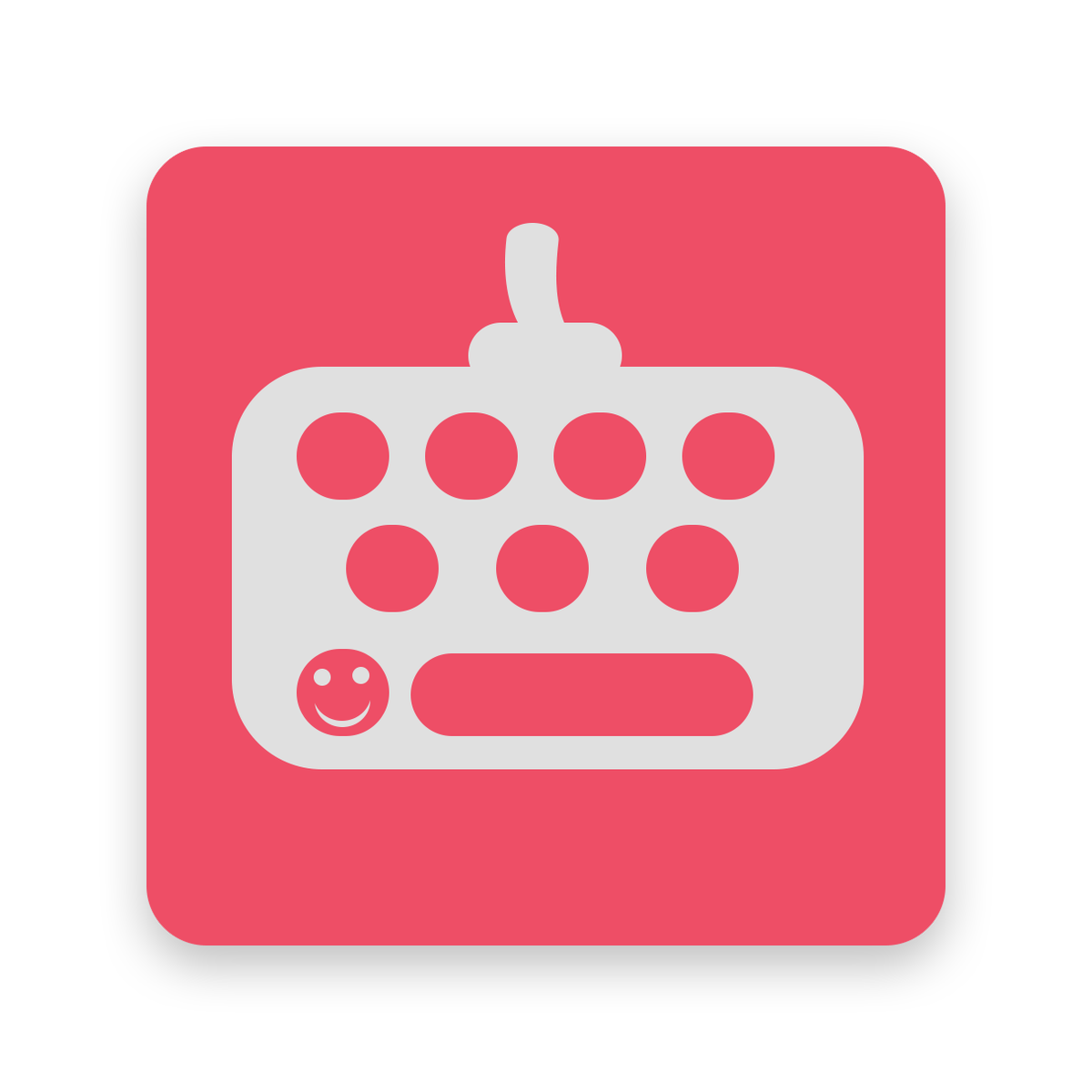 another #android & #ios #keyboard app has entered the game, I can only share the #app icon for now.. More soon! https://t.co/egCmHhrY2t