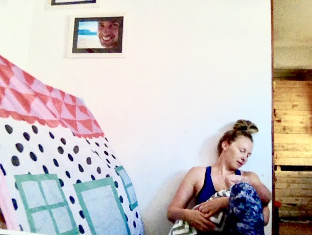 #tummytalk #mommyatwork #hourofpower early bird special workout <3 @cottononbody @LexiNewDefCoco