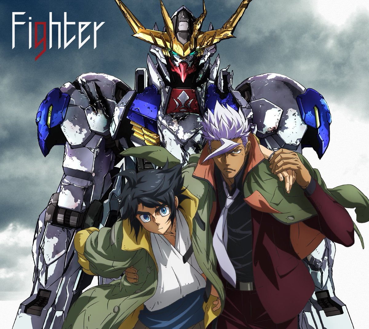 KANA-BOONさんが歌う、OPテーマ「Fighter」のアニメ盤ジャケットが公開となりました。3…