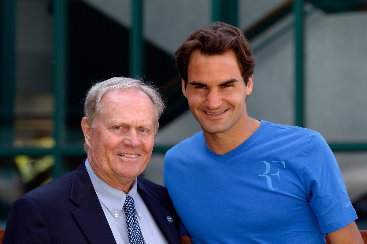 Congratulations @RogerFederer on Grand Slam win No. 18! As a huge fan of tennis and you, don't stop there. https://t.co/PVDuEzJnI6
