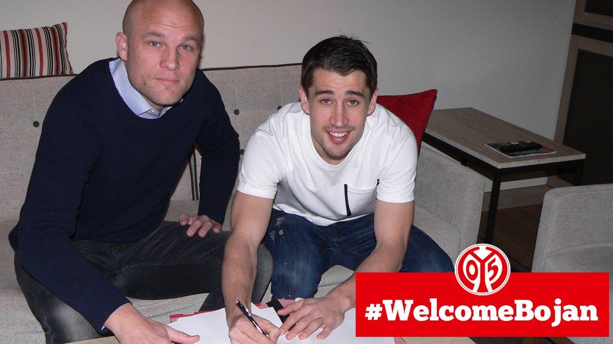 #Bojan wird 05er! #Mainz05 leiht @BoKrkic von @stokecity bis Saisonende aus! #WelcomeBojan