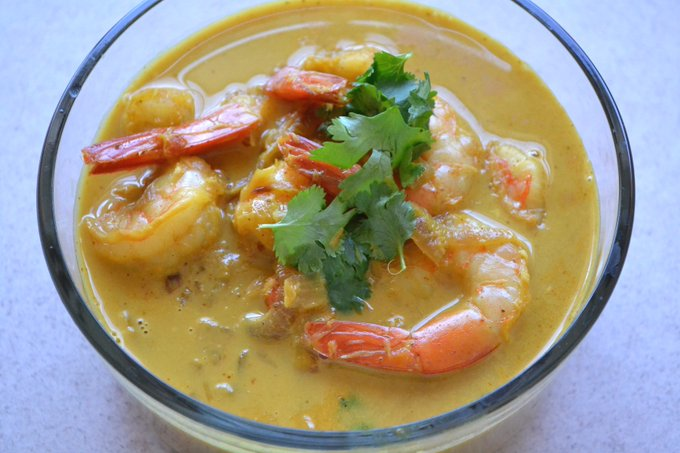 Prawn Curry with Coconut Milk