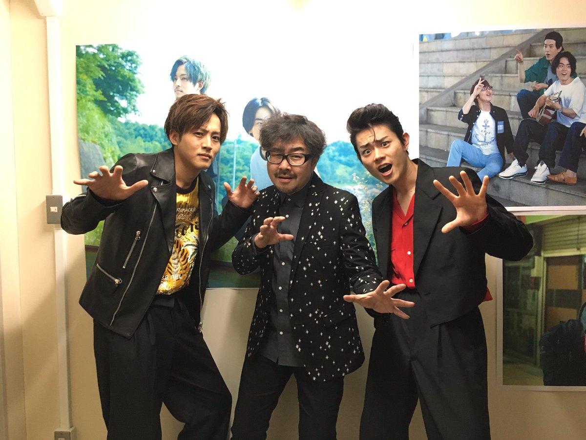 大阪舞台挨拶終了致しました!#兼重淳 監督、 #松坂桃李 さん、#菅田将暉 さん、お疲れ様でした!ご…