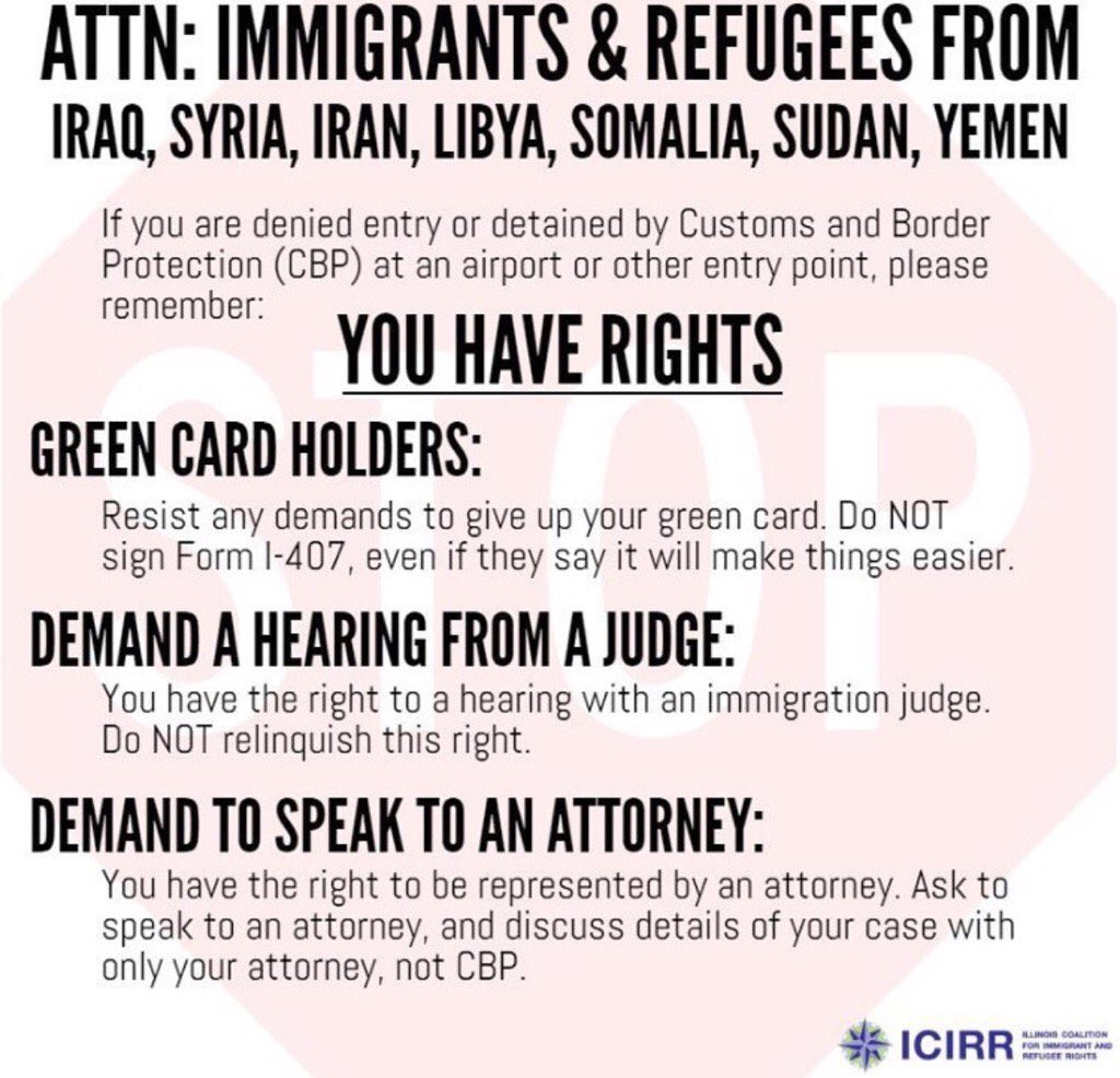 Refugees' rights in the USA