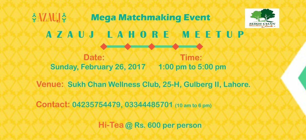 Matchmaking lahore
