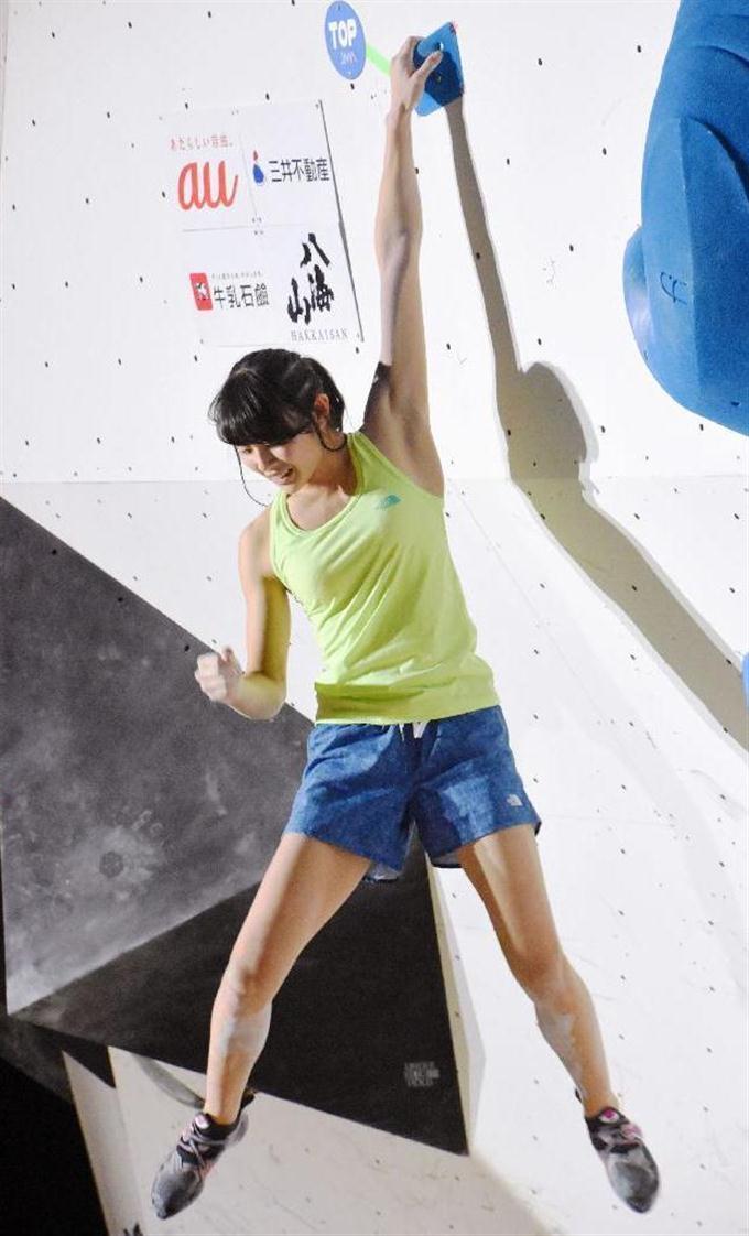 14歳の伊藤ふたばが最年少V ボルダリングのジャパン杯 sankei.com/photo/story…
