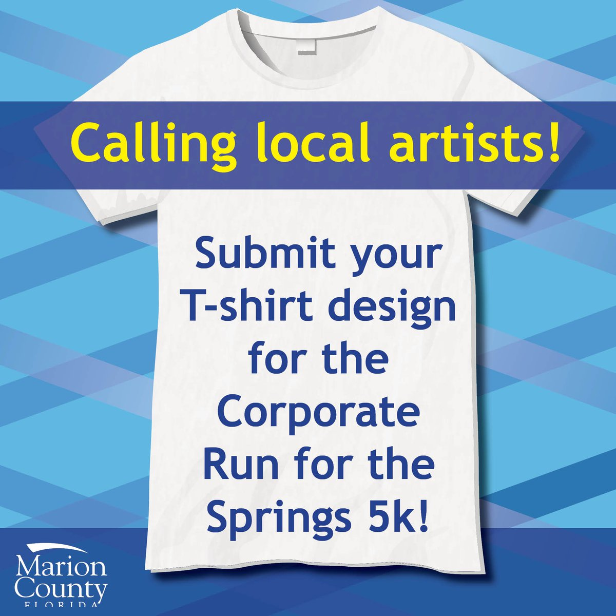 Marion County On Twitter Wanted T Shirt Designs For The Official