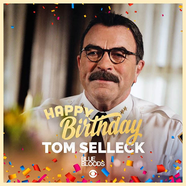 Tom Sellecks Birthday Celebration Happybdayto