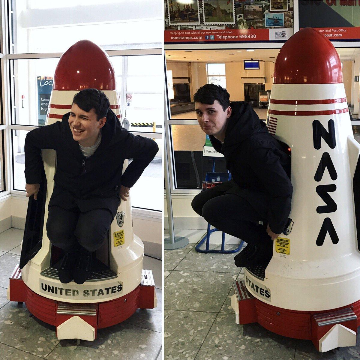 """daniel howell on twitter: """"my ass just got stuck in a kids rocket"""