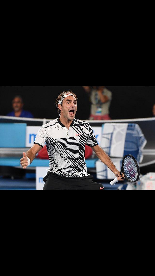 Roger Federer 👏🙏 Wow!