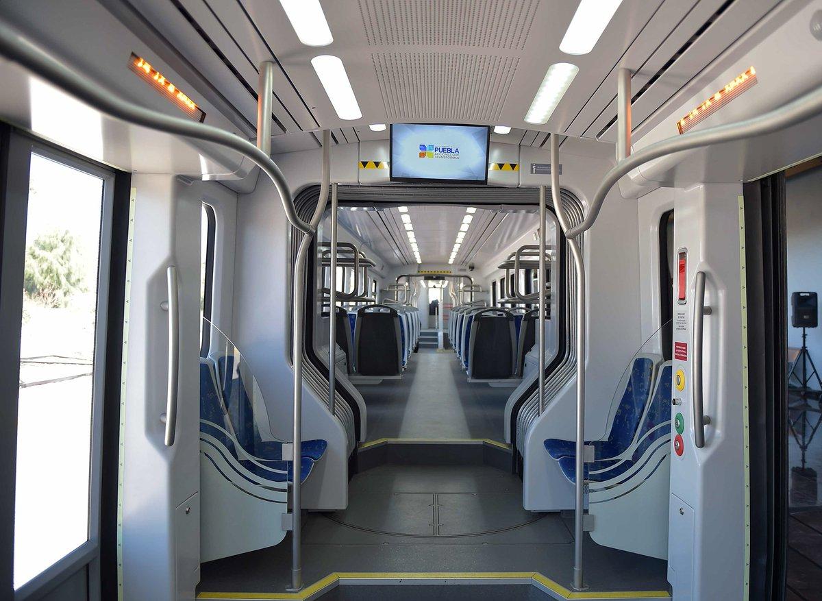 Tren turístico Puebla-Cholula