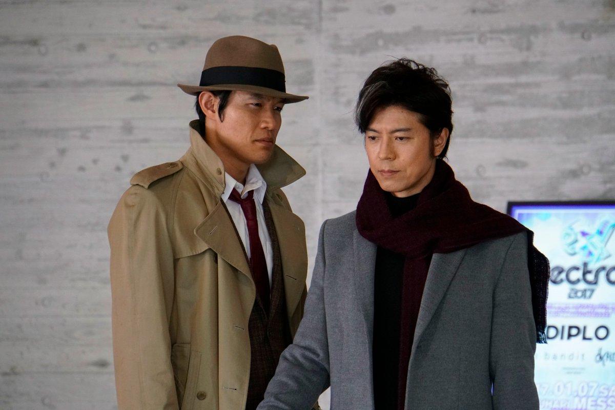 銭形警部役の #鈴木亮平 さん と事件の鍵を握る謎の男、小津勇一役の #上川隆也 さんとの絡みの1シ…