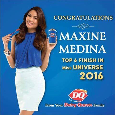 Thank you for all your hard work. You're still our Queen, @maxinemedina! #DairyQueenPH https://t.co/KNIh6FsC25