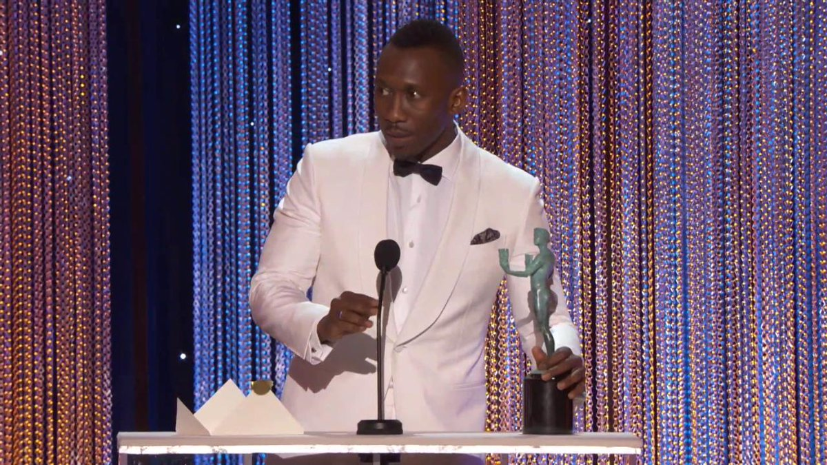 SAG awards: Hidden Figures and Stranger Things win big as actors get political