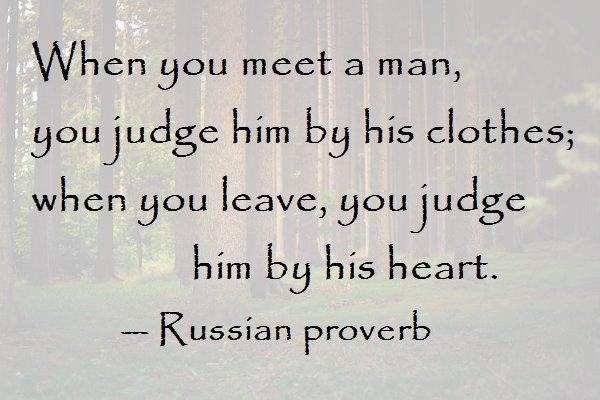 A russian man