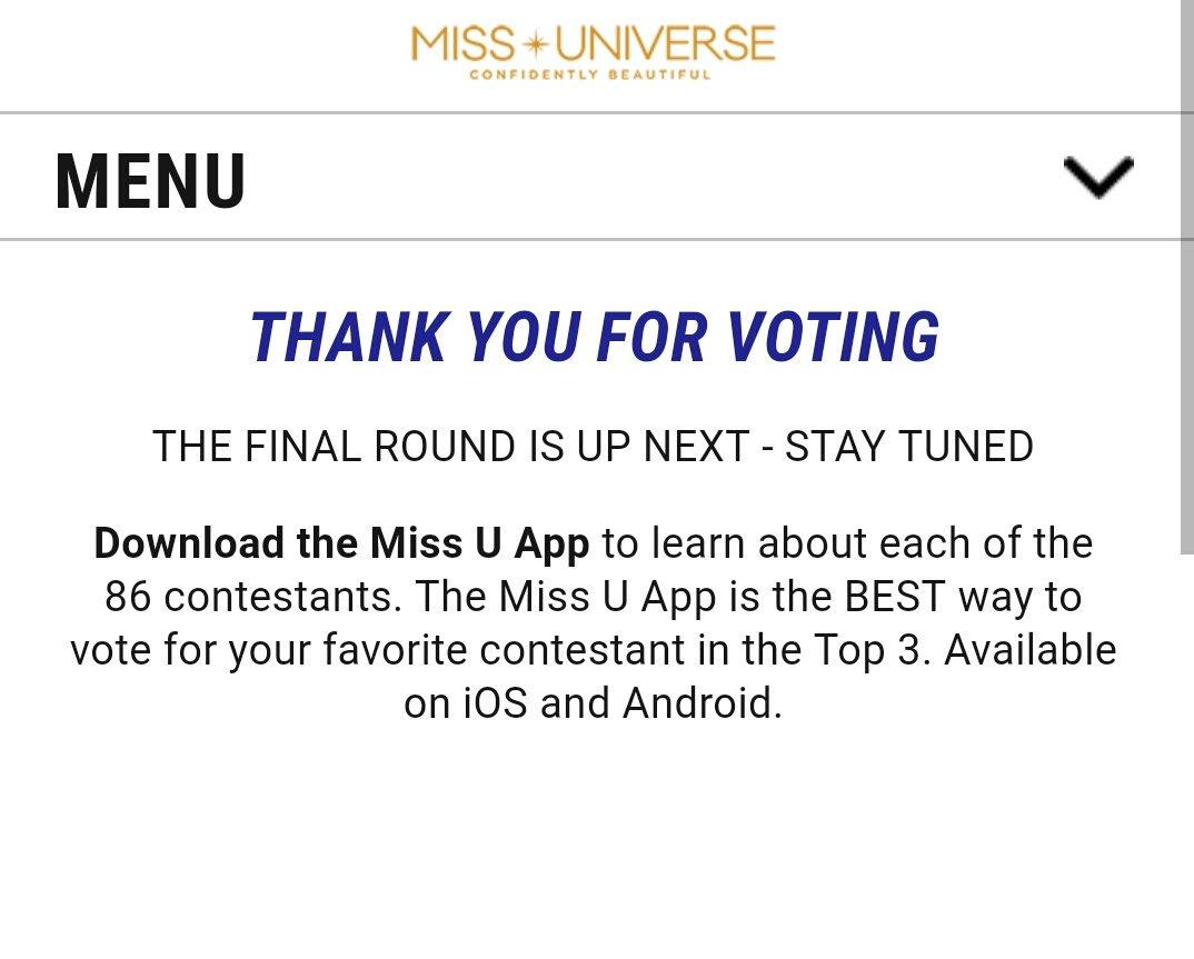 Aldubnationᴬᴰᴺ On Twitter Vote Done Via Miss U App Aldubdestinedtobeyourssoon Missuniverse Philippines Dr