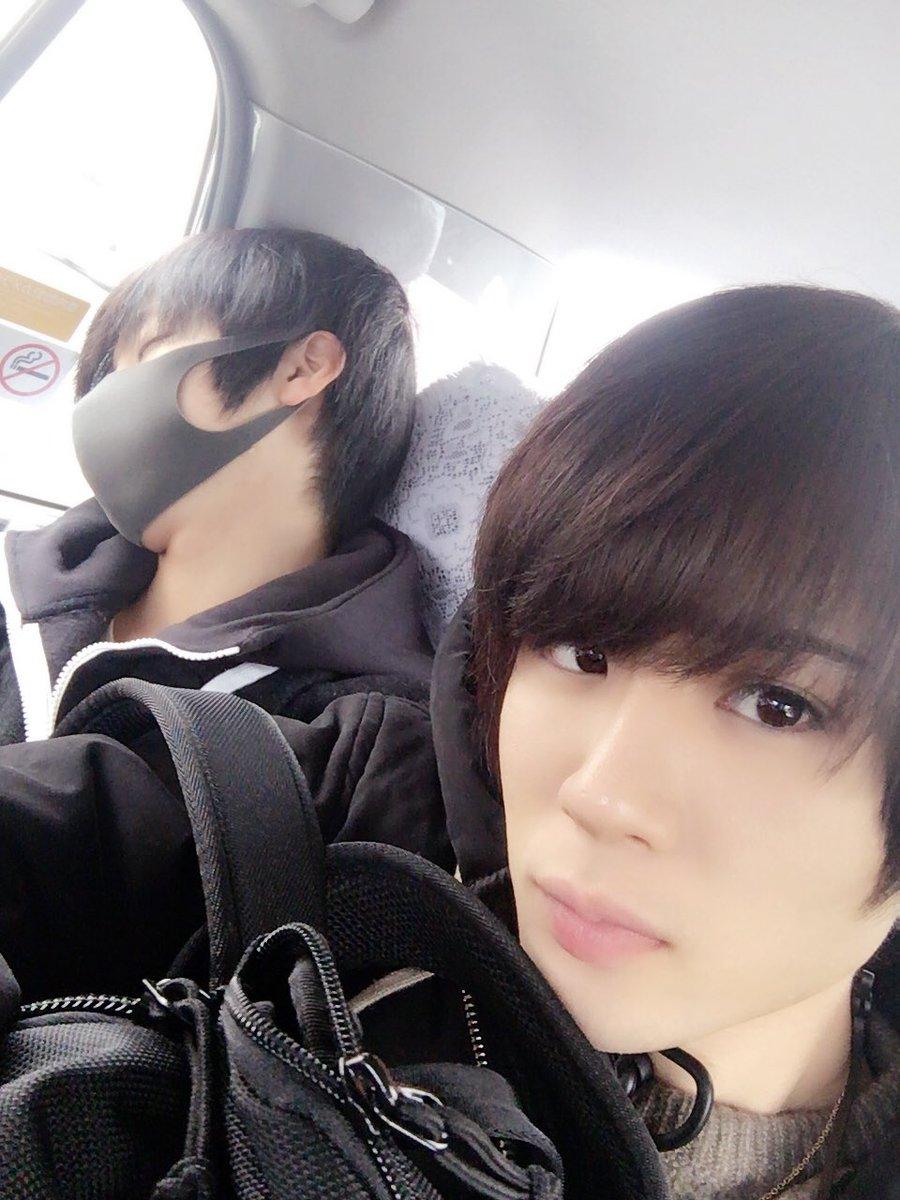 おはよう!!!  本日は大阪を満喫します。 とりあえずちひろ寝てます。