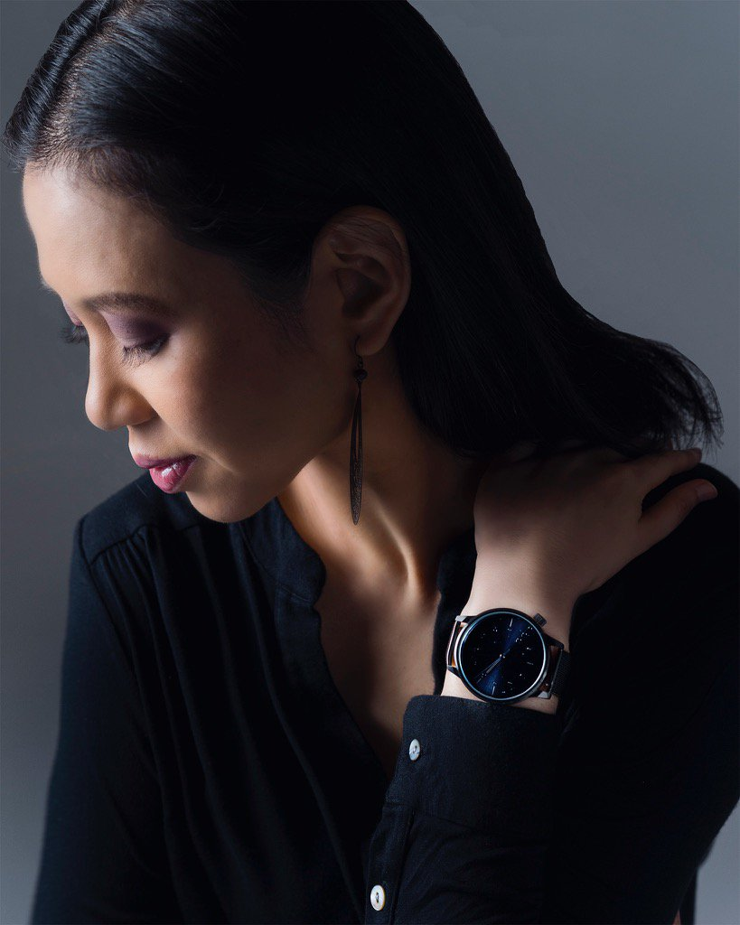 This @KOMONO black Winston Royale ⌚️gives me life. 📷@briennemichelle 💄@tianagrant11 styling: @BeautyFullDsign https://t.co/jG1MFAbKUs