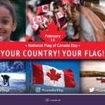 Did you know? Our #Canadianflag celebrates its anniversary every year on February 15. #Canada150 https://t.co/iKkJVTIE3X