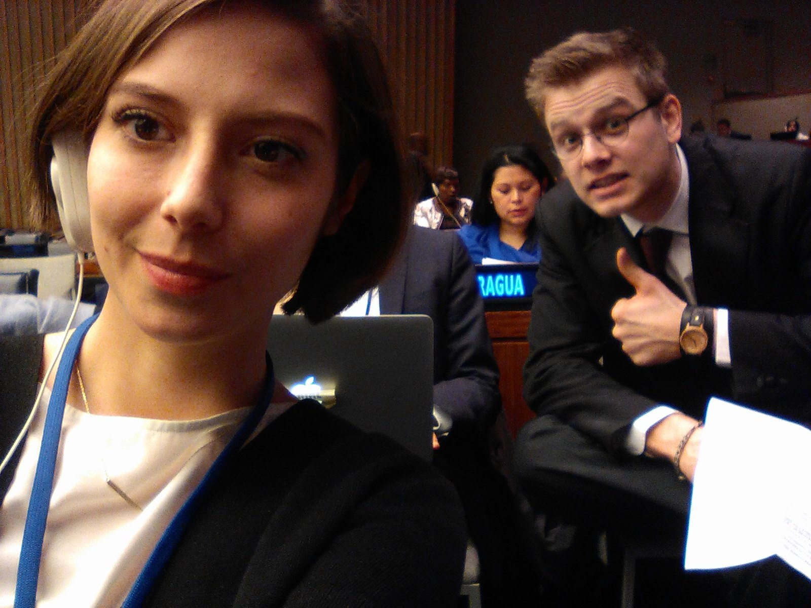 Excited: Only one speaker ahead of us! Watch our speech on youth & social inclusion live: https://t.co/qPxY6ATfGI #CSocD55 #youth2030 https://t.co/oMmX0on3uO