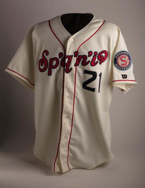 Afbeeldingsresultaat voor Spokane Indians salish jersey